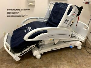 Stryker 2141 Intouch Hospital Medical Bed With Air Mattress