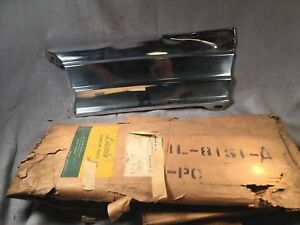 1951 Lincoln Lh Lower Grille Panel 1l 8151 a Nos