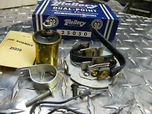 Nos Mallory Chevrolet 216 235 261 6 Cyl Dual Point Ignition Conversion Hot Rod