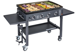 Commercial Restaurant Gas Gril Heavy Duty Grill Flat Top Countertop Food Griddle