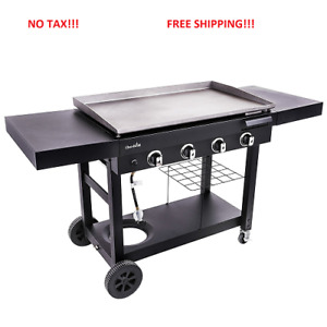 Commercial Restaurant Propane Gas Gril Flat Top Countertop Heavy Duty Grill New