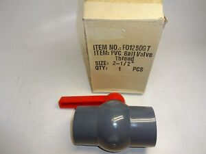 Hayward Cepex Cpxf01250gt Ball Valve 2 1 2 Pvc Compact Threaded