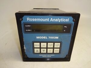 Rosemount Analytical Model 7003m Percent Oxygen Analyzer