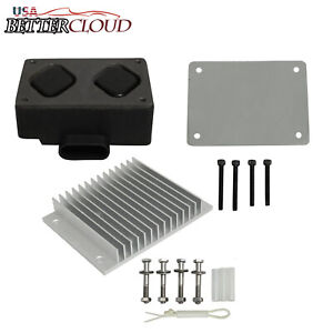 Fuel Pump Driver Module Pmd And Relocation Kit Fit Chevy Gmc 6 5l Diesel