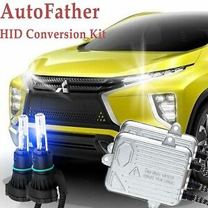 Hid H4 9003 Bi xenon Car Headlight High low Bulbs For Mitsubishi Mirage Eclipse