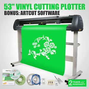 53 Vinyl Cutter Sign Cutting Plotter Industry Supply High Efficiency Great