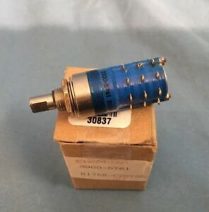 New Cole 3900 5761 Rotary Switch
