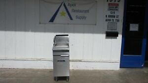 Imperial Fryer 40 Lbs Capacity Commercial Propane Stainless 3220