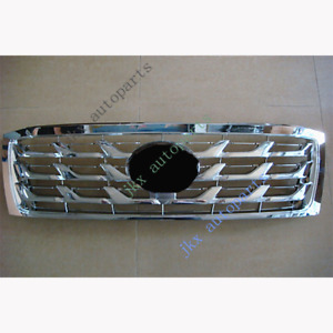 For Toyota Land Cruiser Lc100 Fzj100 2006 07 Silver Scale Front Bumper K Grille