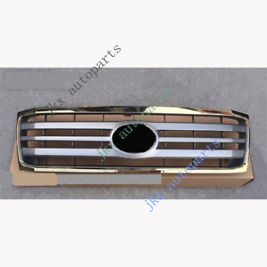 For Toyota Land Cruiser Lc100 Fzj100 06 07 Gold Gray Front Bumper K Grille Grid