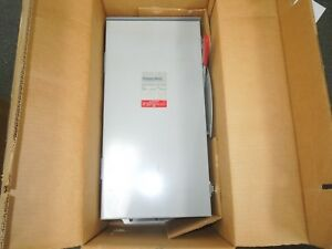 Thomas Betts Rgd323nf tb Non fused Safety Switch 100a 240v Nema 3r Outdoor New