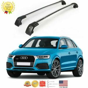 Top Roof Rack Fit For 2013 2018 Audi Q3 Baggage Luggage Cross Bar Crossbar