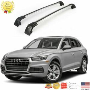 Top Roof Rack Fit For 2011 2018 Audi Q5 Baggage Luggage Cross Bar Crossbar