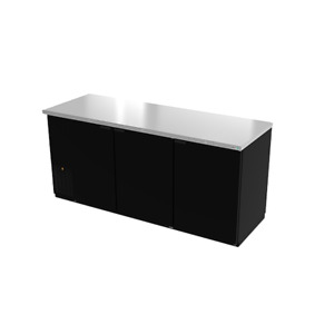 Asber Abbc 78g Back Bar Cabinet Refrigerated