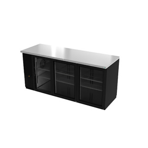 Asber Abbc 78 Back Bar Cabinet Refrigerated