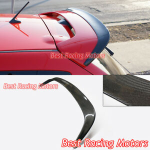 Ms Style Add On Roof Spoiler Wing Carbon Fits 07 09 Mazdaspeed 3