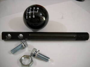 5 Short Shifter Stick W Black Shift Knob For 2004 2006 Gto Holden Commodore