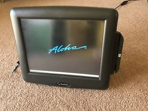 Radiant Systems Aloha Series 7752 Touch Screen Terminal Ncr Pos Look Euc