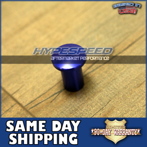 Jdm Universal E Brake Handle Drift Spin Turn Knob Lever Lock Button Blue