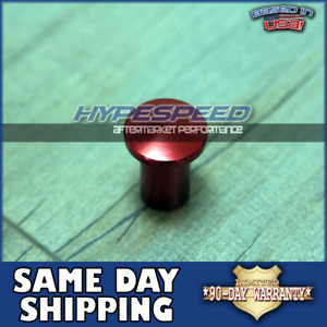 Jdm Universal E Brake Handle Drift Spin Turn Knob Lever Lock Button Red