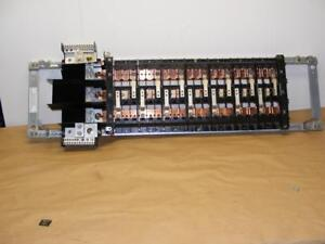 Nos Commercial Electrical Circuit Breaker Panel On Type Rack Board Copper