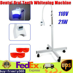 Mobile Dental Teeth Whitening Accelerator Led Light Lamp Teeth Bleaching Us Ship