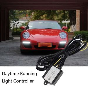 Car Daytime Running Led Light Relay Harness Drl Automatic On Off Control Switch