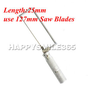 Hot Dental Lab Long Saw Blades 127mm 95mm For Plaster Saw