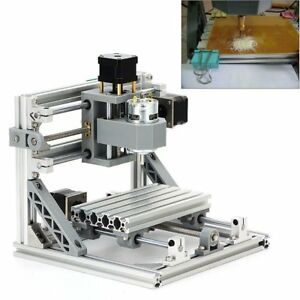 Mini 3 Axis Diy 1610 Grbl Cnc Router Milling Engraving Wood Carving Machine