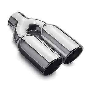 Magnaflow Universal Stainless Steel Exhaust Double Walled Tip Polished In Stock