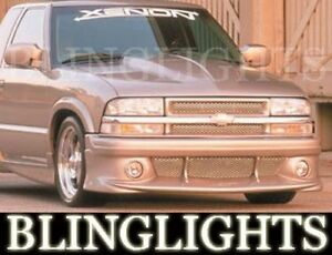 1998 99 2000 01 02 03 04 05 06 2007 Gmc Sonoma Xenon Body Kit Fog Lights Lamps