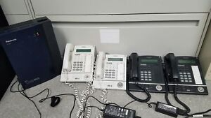 Panasonic Kx tda50 Phone System With 4 Kx t7633 Phones