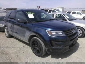 Driver Front Seat Cloth Electric With Police Package Fits 13 16 Explorer 891885