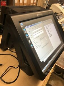 Pos Terminal Used up7000 All In One With Built In Thermal Printer