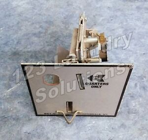 Dryer Set o matic 25 Coin Drop Acceptor For American Dryer adc Used