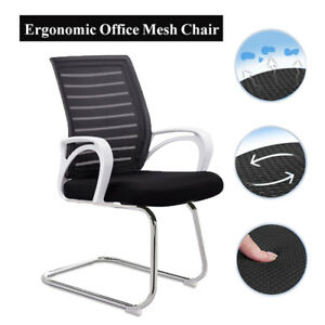 Ergonomic Office Mesh Chair Mid back Computer Desk Executive Padded Seat