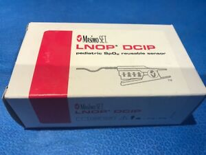Masimo Set 1276 Lnop Dcip Pediatric Hard Finger Spo2 Sensor Lnop F tab 3 New
