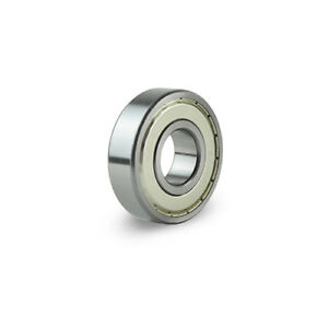 6203 Zz High Quality Ball Bearings 100 Pcs Metal Shields 17 40 12 Mm