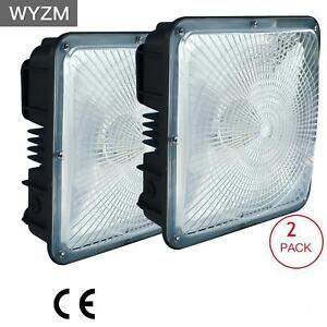 Led Canopy Lights 45w 70w 120w 150watt hid hps Replacement Commercial Fixture