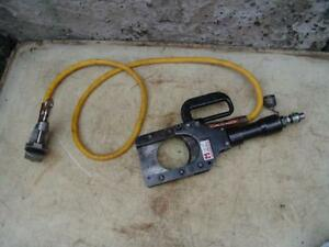 Huskie Sp 85 Enerpac Cable Wire Cutter With Ground Wire