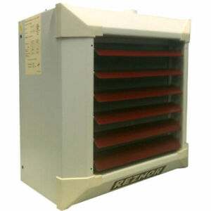 Reznor Ws 44 62 Suspended Hydronic Unit Heater 2 Row Steel Coil Hot Water