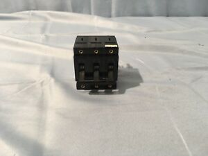New Airpax Sensata Upl112 1rec4 28049 4 Circuit Breaker 20a 400 Hz 250v