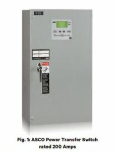 Asco Series 300 Standard Open Transition 2 Pole Solid Neutral 240v 600 Amp