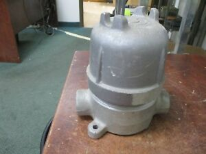 Crouse hinds Explosion Proof Sunction Box 1 2 Gujc 16 Used