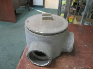 Crouse hinds Explosion Proof Outlet Box Gual69 gujl69 Used