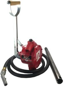 Fill rite Fuel Transfer Pump Piston Pump With 8 Ft Hose And Fittings
