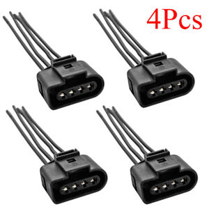 4 X Ignition Coil Connector Repair Kit Harness Plug Wiring For Audi A3 A4 A6 Rs6