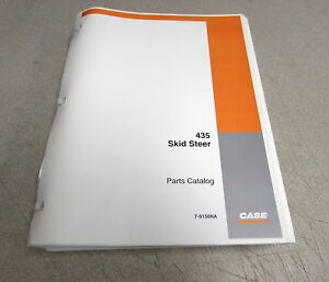Case 435 Skid Steer Parts Catalog Manual 7 9150na 2004