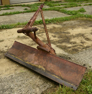 50s Vintage Dearborn Farm Equipment Ford Tractor Utility Blade 8n 9n Naa Jubilee