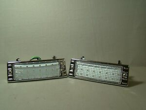 Stainless Steel 47 48 49 50 51 52 53 Chevy Truck Clear Led Park Light Assemblies